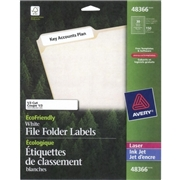 Avery Eco-Friendly File Folder Label
