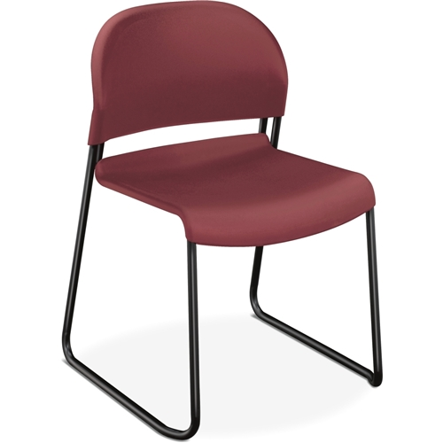 The HON Company HON Stack Chair w/Painted Legs