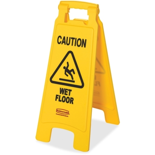 Newell Rubbermaid, Inc Rubbermaid Caution Wet Floor Safety Sign