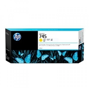 HP #745 300-ml YW (F9K02A) OEM Ink Cartridge