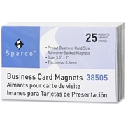 Sparco 38505 Business Card Magnets