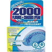 WD-40 Company 2000 Flushes Blue/Bleach Bowl Cleaner Tablets