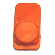 HP & Canon Small Ink Port Cap, Orange
