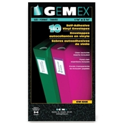 Gemex, Inc Gemex Self Adhesive Label Holder