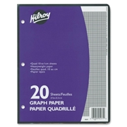 ACCO Brands Corporation Hilroy One-Sided Metric Quad Ruled Filler Paper