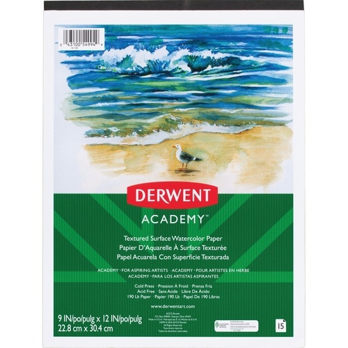 ACCO Brands Corporation Mead Textured Surface Watercolor Paper