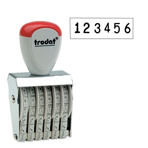 Trodat GmbH Trodat Manual Numberer Stamp
