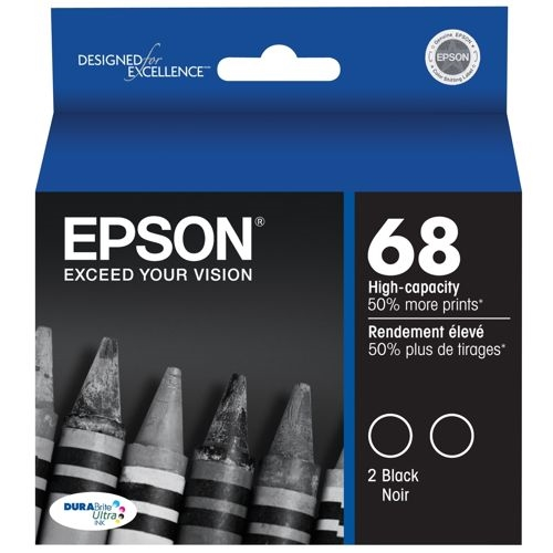 Epson T0681x2 (T068120-D2) OEM Ink Cartridge