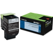 Lexmark OEM 80C1HK0 Toner Cartridge
