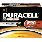 Duracell CopperTop Alkaline D Battery