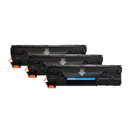 HP Compatible 83A 3pk (CF283A 3pk) Toner Cartridge