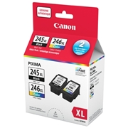 Canon PG-245XL / CL-246XL Value Pack OEM Ink Cartridge