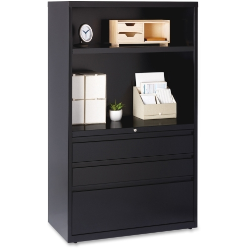 """Lorell 36"""" Lateral File Drawer Combo Unit"""