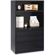 "Lorell 36"" Lateral File Drawer Combo Unit"