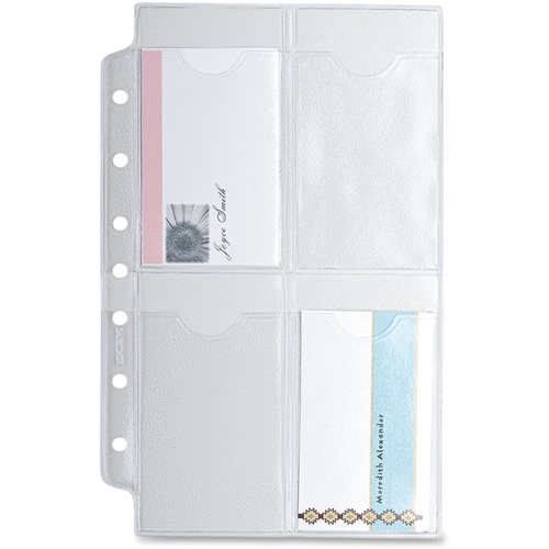 ACCO Brands Corporation Day-Timer Business/Credit Card Holder Page