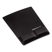 Fellowes Mouse Pad / Wrist Support with Microban Protection