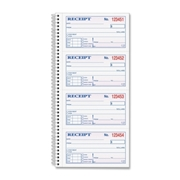 TOPS Money/Rent Receipt Book