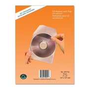 Greenside Group Greenside Self-Adhesive CD Pocket with Flap