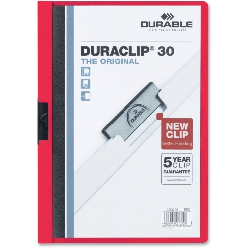 Durable Office Products Corp. Durable DURACLIP Report Cover