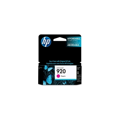 HP #920 M (CH635AC#140) OEM Ink Cartridge