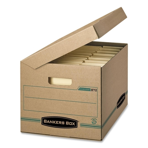 Fellowes, Inc Fellowes Flip-Top Attached Lid File Box