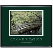 Advantus Corp Advantus Communication Framed Poster