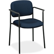 The HON Company Basyx by HON VL616 Guest Chairs With Arms