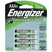 Energizer Holdings, Inc Energizer NH12BP-4 AAA Nickel Metal Hydride Rechargeable Battery