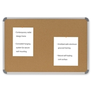 Ghent Manufacturing, Inc Ghent Cintra CTSK48 European Style Corkboard