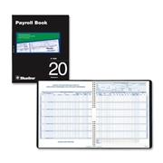 Blueline Twenty Employees Payroll Book
