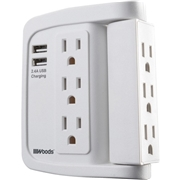 Wood Industries 6-Outlet Surge Suppressor