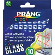 Prang Decor Glass Crayons