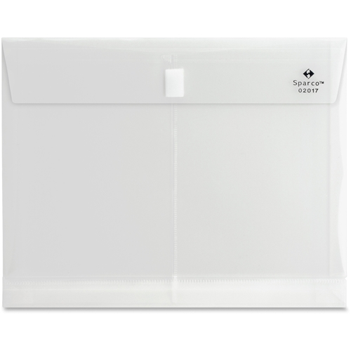 Sparco Products Sparco Hook n' Loop Polypropylene Envelopes
