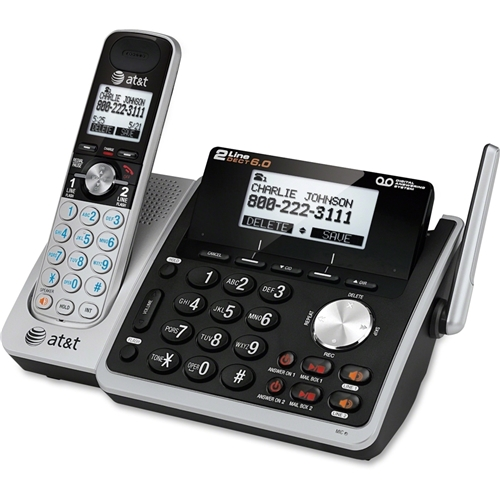 AT&T Corp AT&T TL88102 DECT 6.0 1.90 GHz Cordless Phone