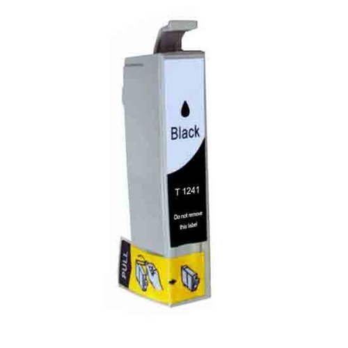Epson T1241 BK (T124120 BK) compatible Ink Cartridge