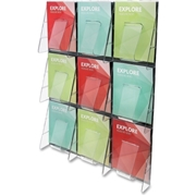 Deflecto Corporation Deflect-o 9-Pocket Wall Mount Literature Rack