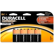 Duracell CopperTop Alkaline 9-Volt Battery