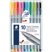 Staedtler Mars GmbH & Co. Staedtler Triplus Fineliner 6-pc Porous Point Pens