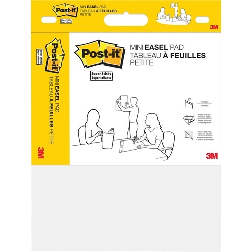 3M Post-it® Super Sticky Easel Pad