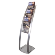 Deflecto Corporation Deflect-o Contemporary Literature Floor Stand