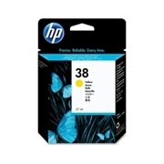 HP #38 Y (C9417A) OEM Ink Cartridge