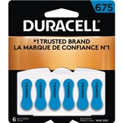 Duracell Zinc Air Hearing Aid Battery