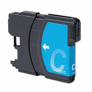 Brother LC61 C (LC-61 C) compatible Ink Cartridge