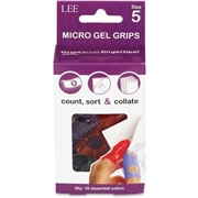 Lee Products Company LEE Tippi Micro-Gel Fingertip Grips