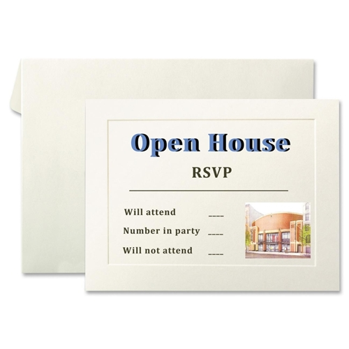 First Base, Inc First Base Overtures 71011 Invitation Card