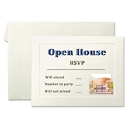 First Base Overtures 71011 Invitation Card