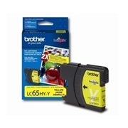Brother LC65 YW HY (LC-65 HYY) OEM Ink Cartridge