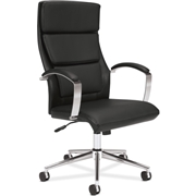 The HON Company Basyx by HON Executive High-Back Chair