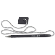 """Merangue 24"""" Stay-Put Security Pen with Chain"""
