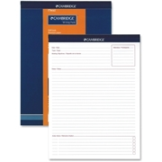 Hilroy Headstrip Meeting Notes Writing Pad